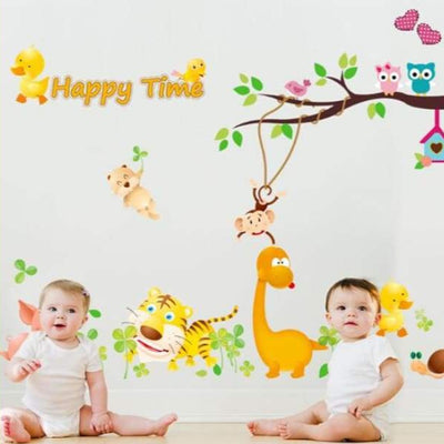 Happy Time Branch Decals on WallStickers.ie