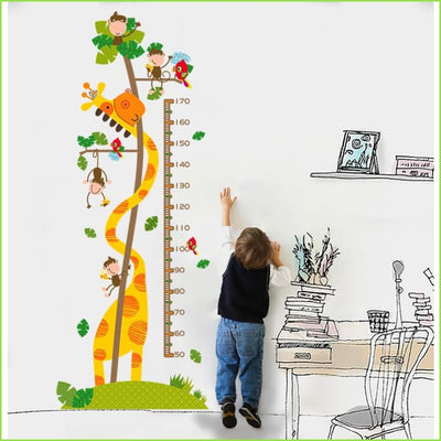 Kids Height Chart - Decal