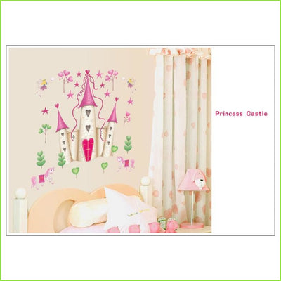Large Castle Wall Decal on WallStickers.ie