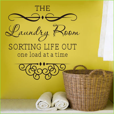 Laundry Room Wall Decals on WallStickers.ie