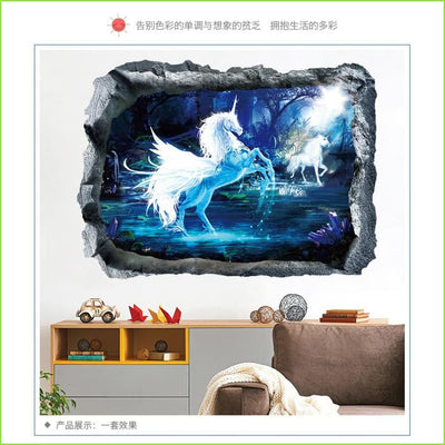 Magical Unicorn Wall Sticker on WallStickers.ie