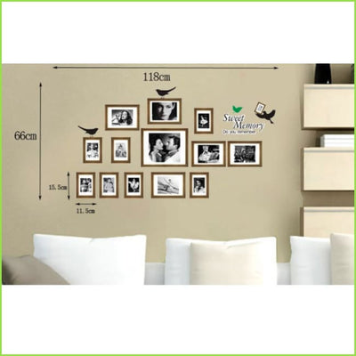 Memory Wall Sticker Photo Frames on WallStickers.ie