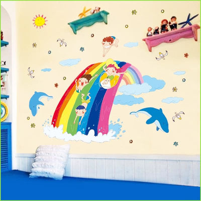 Over the Rainbow Decals on WallStickers.ie