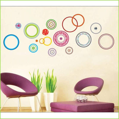 Pattern Circle Wall Stickers on WallStickers.ie