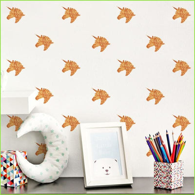 Pink Unicorns Wall Stickers on WallStickers.ie