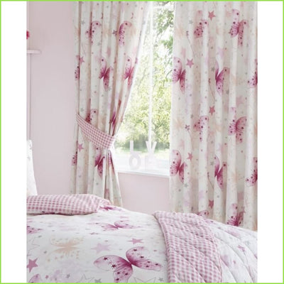 Pink Wish SINGLE Duvet Set on WallStickers.ie