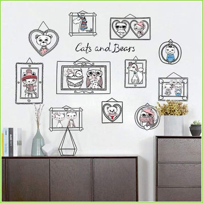 Simple Colour Frames Decal - Decals