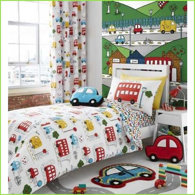 Transport Curtains on WallStickers.ie