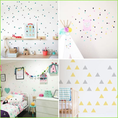 Triangles Wall Decals