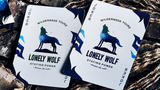 Lonely Wolf Playing Cards