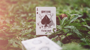 Mantecore Blanc Playing Cards