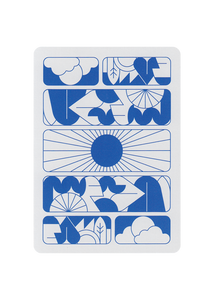 Entry Suns Playing Cards