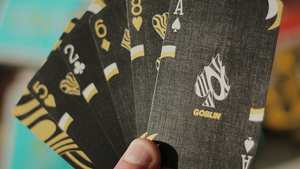 Gold Goblin Playing Cards