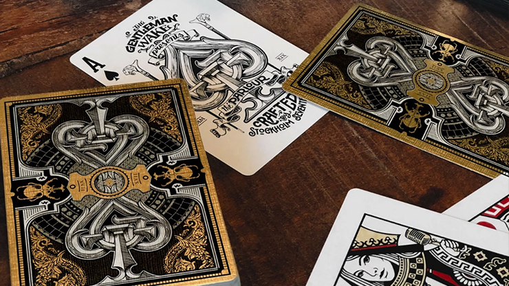 Limited Edition The Parlour Playing Cards (Black Variant)