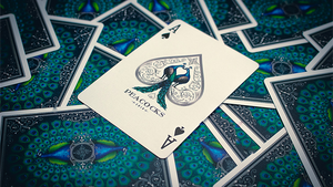 Limited Edition Peacocks Playing Cards
