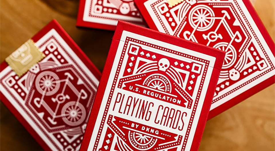 DKNG Wheel Playing Cards