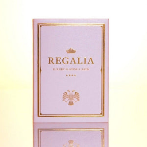 Regalia White Luxury Playing Cards by Shim Lim