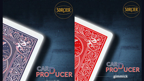Card Production Gimmick Blue by Sorcier Magic
