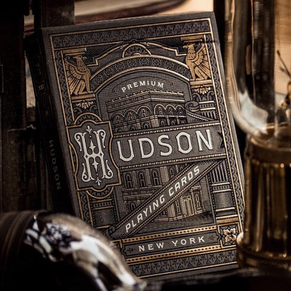 Hudson Playing Cards Forged on Bank of Hudson River Poker Magic Deck by Theory11