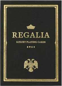 Black Regalia Playing Cards