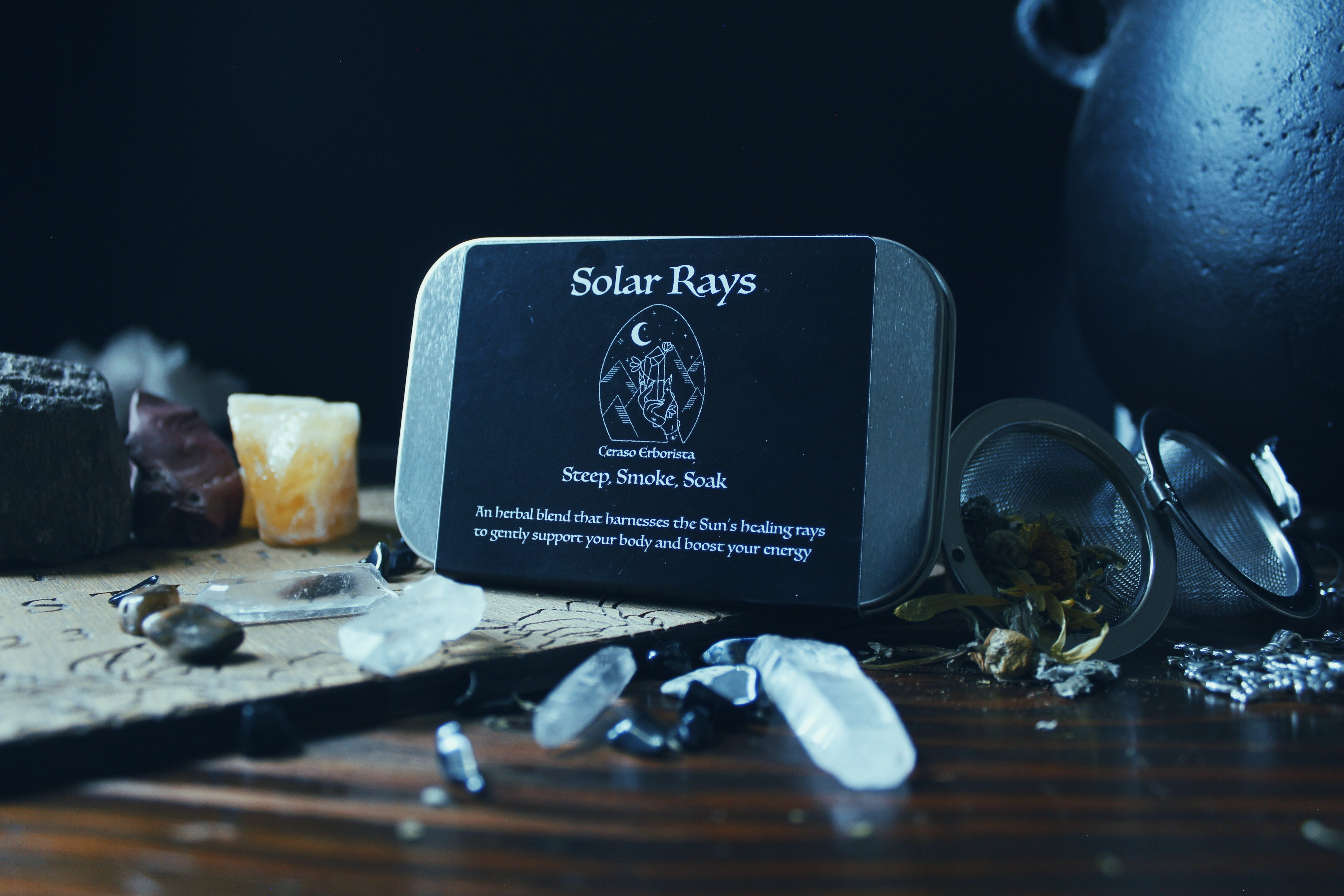 Solar Rays Herbal Blend - Jasmine Moon