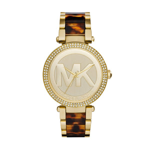 4146422e801c Michael Kors MK6109 Parker Ladies  PVD Gold Plated Watch