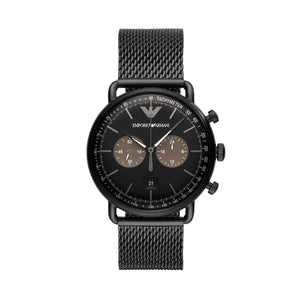 dd2089237 Emporio Armani AR6088 Tazio Men's Chronograph Watch – Ticara Watches