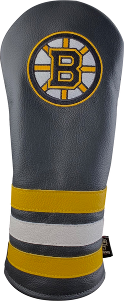 Dormie Workshop Boston Bruins Leather Golf Headcover