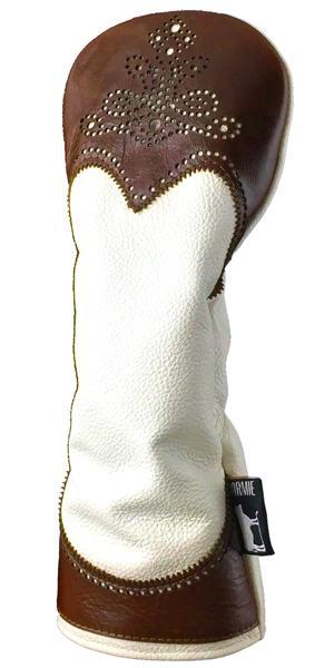 Dormie Workshop Cocoa tips Leather Golf Headcover