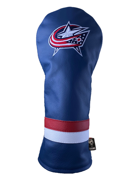 Dormie Workshop Columbus Blue Jackets Leather Golf Headcover