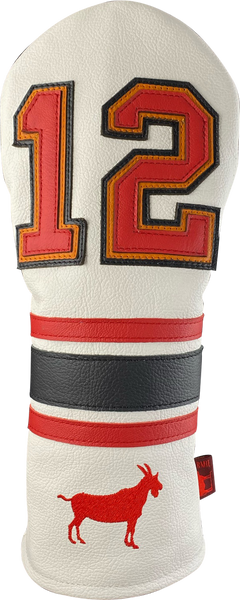 Dormie Workshop GOAT 12 Tribute Leather Golf Headcover