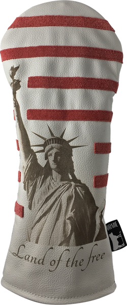 Dormie Workshop Statue Of Liberty Leather Golf Headcover