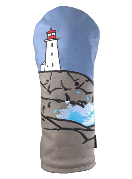 Dormie Workshop Peggy's Cove Cover Leather Golf Headcover