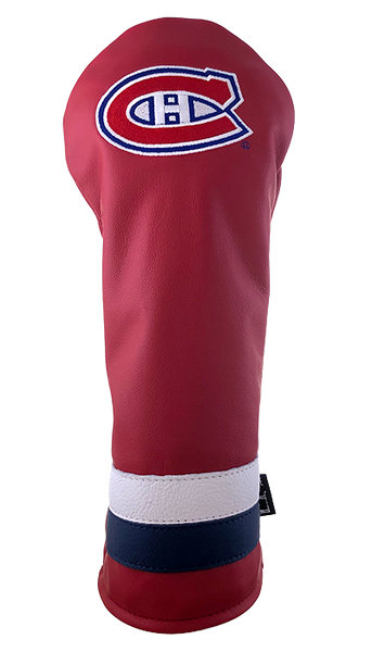 Dormie Workshop Montreal Canadiens Leather Golf Headcover