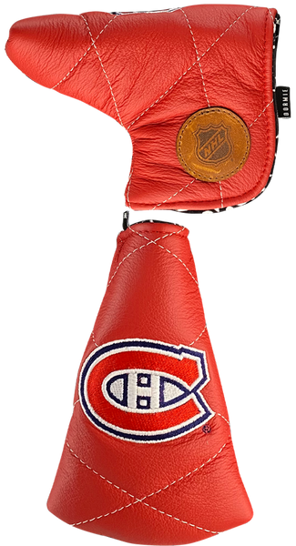 Dormie Workshop Montreal Canadiens Quilted Leather Golf Headcover