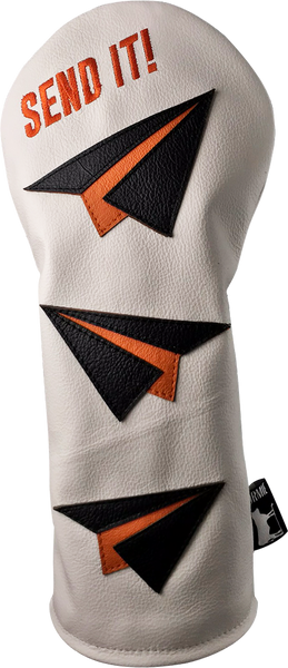 Dormie Workshop SEND IT ! to the moon Leather Golf Headcover