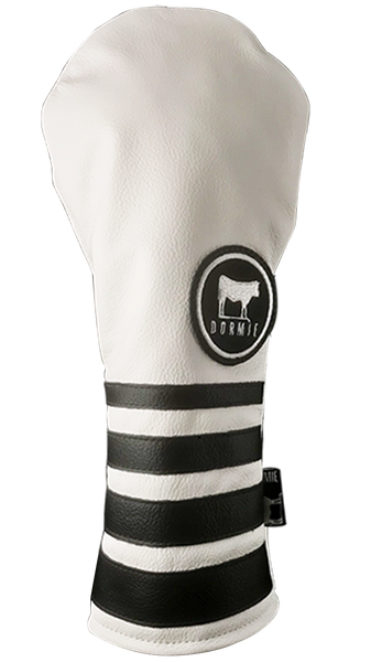 Dormie Workshop Personalized Stripes & Solids Leather Golf Headcover