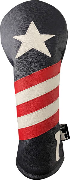 Dormie Workshop Old Glory Leather Golf Headcover