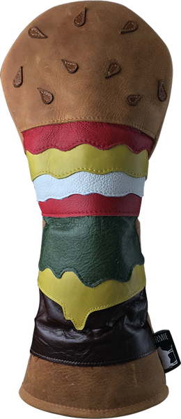 Dormie Workshop Burger and Drives Leather Golf Headcover