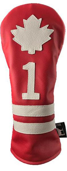 Dormie Workshop Canada Striper Leather Golf Headcover