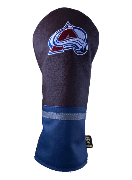 Dormie Workshop Colorado Avalanche Leather Golf Headcover