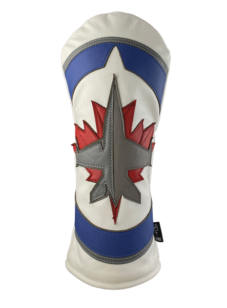 Dormie Workshop Winnipeg Jets Primo Leather Golf Headcover