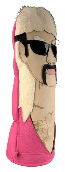 Dormie Workshop Tiger King Leather Golf Headcover