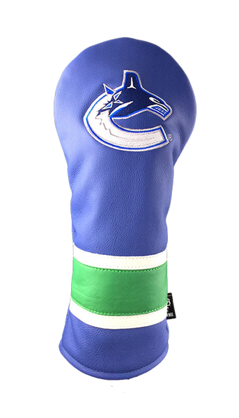 Dormie Workshop Vancouver Canucks Leather Golf Headcover