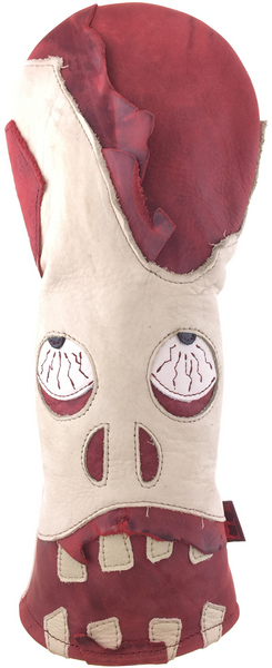Dormie Workshop Zombie Apocalypse Leather Golf Headcover