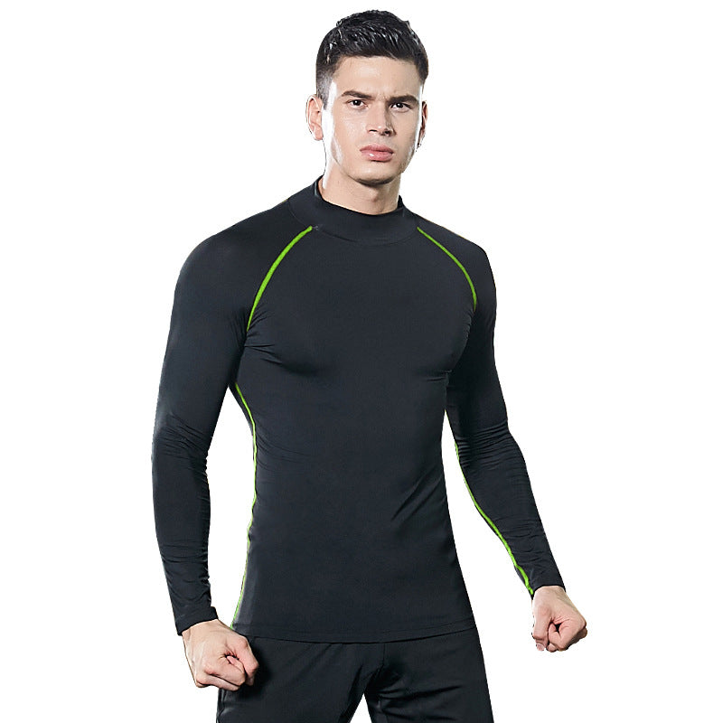 Men's Long Sleeves Quick-Drying Running T-shirt