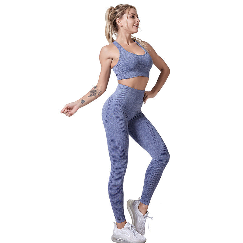 Women's Tight Pants Shockproof Bra Sports Suit