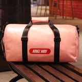 PU Leather Large Capacity Gym Bag