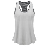 Sports Gym Shirts Yoga Tops with Built in Bra