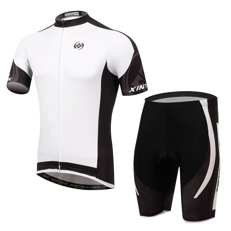 Summer Cycling Clothing Men Short-Sleeve Suits